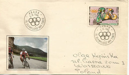 Bicycling In The Olympic Games, Letter Addressed To Poland - Ciclismo