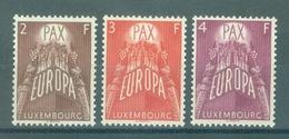 LUXEMBOURG - Mi Nr 572/574 - Europa CEPT - MNH** - Cote 200,00 €