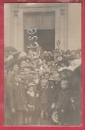 Neuchâteau  - Fêtes Patriotiques Du 31 Août 1919 - Groupe De Personnes -Carte Photo ( Voir Verso ) - Neufchâteau