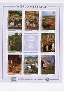 Grenada 1997-UNESCO-villes Diverses-3001/8***MNH-feuillet