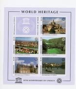 Grenada 1997-UNESCO-Cathédrale,monastère,la Seine,...YT-2944/8***MNH-feuillet