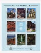 Grenada Grendaines1997-UNESCO-Galapagos,Maya,Cartagène,...YT-2094/101***MNH-feuillet