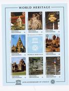 Grenada Grendaines1997-UNESCO-Temple,bouda,Thailande,,...YT-2021/28***MNH-Feuillet