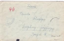 "Feldpost WW2: From The Battleship Schlachtschiff ""Scharnhorst""  FP M23657 3. Flakdiv. With Faint Postmark - Cover Only ( - Militaria"