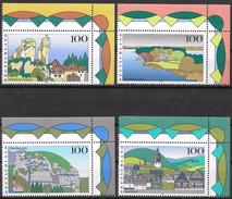 Bund 1995 / MiNr.   1807 – 1810  Rechte Obere Ecken   ** / MNH   (e646)