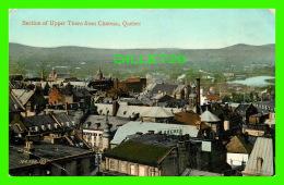QUÉBEC - SECTION OF UPPER TOWN FROM CHATEAU FRONTENAC, QUEBEC -  THE VALENTINE & SONS PUB CO LTD - - Québec - La Cité