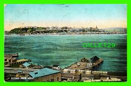 QUÉBEC - VUE DE QUÉBEC PRISE DE LÉVIS - CIRCULÉE EN 1909 - PUB. BY JOHN E. WALSH - - Québec - La Cité