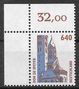 Bund 1995 / MiNr.   1811  Linke Obere Ecke   ** / MNH   (e647)