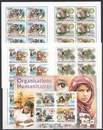 A214 2011 BURUNDI ORGANISATIONS HUMANITAIRES UNICEF,ROTARY,LIONS KB+10SET MNH