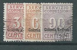 Colonie Italiane, Eritrea, Servizio Commissioni, Sassone 1/3 (Sass 600 E) - Eritrea