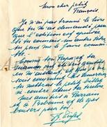 Document Ancien / Lettre / Famille Triffet / Mosselmans / Schaarbeek - Vieux Papiers