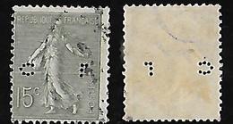 Semeuse N° 130 Perforé/perfins CL 188 - France