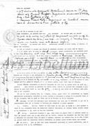 Document Ancien / Acte / Akte / Famille Triffet / Mosselmans / Bruxelles / 2 Scans / 1925 - Vieux Papiers