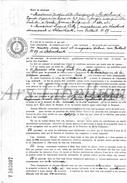 Document Ancien / Acte / Akte / Famille Triffet / Mosselmans / Bruxelles / 2 Scans / 1934 - Vieux Papiers