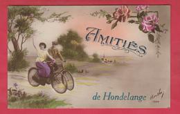 Hondelange - Amitiés De ... - Jolie Carte Fantaisie   ( Voir Verso ) - Messancy
