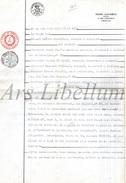 Document Ancien / Acte / Akte / Famille Triffet / Mosselmans / Bruxelles / Notaire Ernest Clavareau / 1926 / 2 Scans - Vieux Papiers