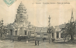PALAIS DU CAMBODGE  MARSEILLE EXPOSITION COLONIALE EDITION LACOUR - Cambodge