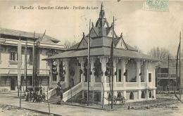 PAVILLON DU LAOS  MARSEILLE EXPOSITION COLONIALE EDITION LACOUR - Laos