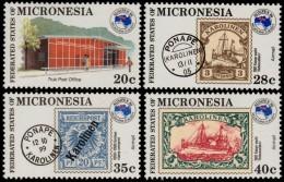 ~~~ Micronesia 1984 - Aussipex Stamp Exhibition - Mi. 24/27 ** MNH ~~~ - Micronesië