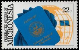 ~~~ Micronesia 1986 - Passport For Micronesia  - Mi. 67  ** MNH ~~~ - Mikronesien