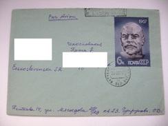 Soviet Union/USSR Cover 1967 From Poltava (now Ukraine) To CSSR - Stamp Portrait Of Lenin (G. And Yu. Nerod) Mi 3342