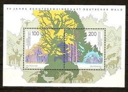 Bund Deutschland Allemagne 1997 Yvertnr. Bloc 37 *** MNH Flore
