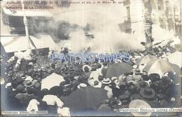 66892 SPAIN ESPAÑA MADRID ROYALTY ATENTADO CONTRA QUEEN EN LA CALLE MAYOR EXPLOSION AÑO 1905  POSTAL POSTCARD - Non Classificati