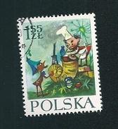 N° 2425 Personnages De Conte De Maria Konopnicka   Timbre  Pologne Neuf/oblitéré  Polska 1962
