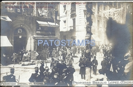 66893 SPAIN ESPAÑA MADRID ROYALTY ATENTADO CONTRA QUEEN SS. MM EN LA CALLE MAYOR EXPLOSION AÑO 1905  POSTAL POSTCARD - Non Classificati