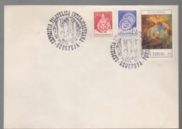 COVER Minerals -philatelic Exhibition Interjudeteana   GEOSPEPA RESITA  1987