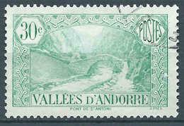 Andorre - 1932 - Pont St Antoine - N° 32  - Oblit - Used