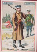 Chromo Armee Russe Infanterie Regiment De Kalouga Chicoree G. Black La Cantiniere Ste Olle Pres Les Cambrai Russian Army - Thé & Café