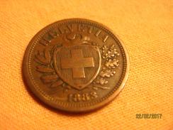 Suisse: 2 Centimes 1883 - Switzerland