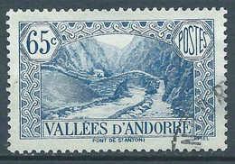 Andorre - 1937 - Pont De St Antoine - N° 68  - Oblit - Used