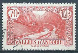 Andorre - 1937 - Pont De St Antoine - N° 69  - Oblit - Used