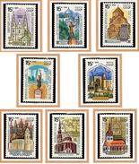 Russie ** N° 5770 à 5777 - Monuments Historiques  -