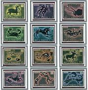 St Marin - N° 749 à 760 - Les Signes Du Zodiaque - - Unused Stamps