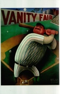 Postcard - Vanity Fair Cover For Sept 1933 - Illus Miguel Covarrubias - New - Postcards