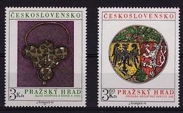 TCH 107 -TCHECOSLOVAQUIE N° 2136/37 Neuf** Trésors Du Château De Prague