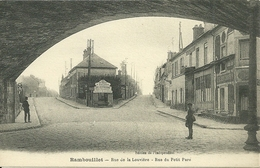 RAMBOUILLET - Rue De La Louvière - Rue Du Petit Parc - Rambouillet
