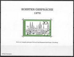 Bund 1979 / Block Entwurf Essay Soester Gespräche   ** / MNH   (e658)