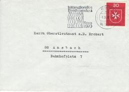Germany Cover.   Postmark : Internationales Beethovenfest  Bonn 1970.     H-963