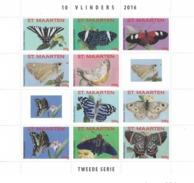 Sint Maarten 2016, Butterflies II, 10val In BF