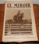 LE MIROIR. N° 308. 19 Octobre 1919. NANCY LE MAIRE, M. SIMON PLACE STANISLAS - 1900 - 1949