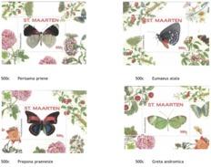 Sint Maarten 2016, Butterflies III, 4BF