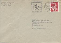 Germany Cover.   Postmark : Tischtennis Kleve 1981.    H-965