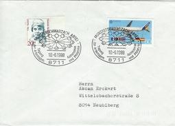 Germany Cover.   Postmark : Tagung Der Arbeitsgem. Astronomie Und Philatelie. 1988.   H-966