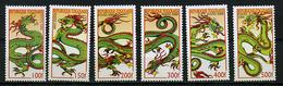Togo ** N° 1867A à 1867F - Année Lunaire Du Dragon -