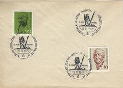 Germany Cover.   Postmark : Astrophilatelie-Schau-München 2.  2 Mond Landung.   2.Moon Landing. 1969.    H-967