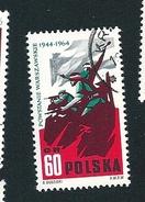 N° 1378 Insurrection De Varsovie   Timbre  Pologne Neuf/oblitéré Polska 1964
